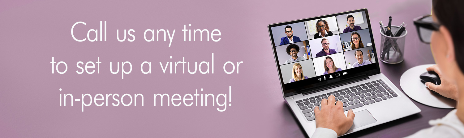 Call us any time to set up a virtual or in-person meeting Engelhardt & Partners Advertising